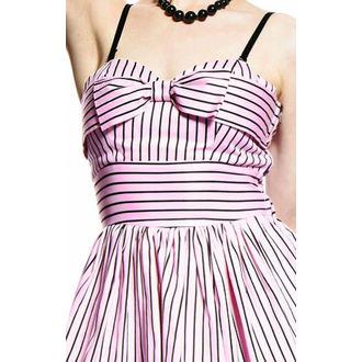 šaty dámské HELL BUNNY - Lala Dress - Pink - 4085