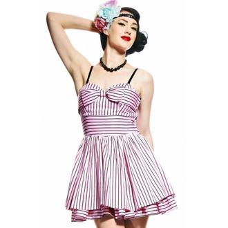 šaty dámské HELL BUNNY - Lala Dress - Pink, HELL BUNNY