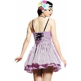 šaty dámské HELL BUNNY - Lala Dress - Pink