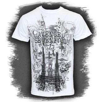 tričko pánské Avenged Sevenfold - Land Of Cain - ROCK OFF, ROCK OFF, Avenged Sevenfold