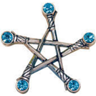 přívěšek Pentagram of Swords - EASTGATE RESOURCE, EASTGATE RESOURCE