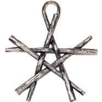 přívěšek Pentagram of Wands - EASTGATE RESOURCE, EASTGATE RESOURCE