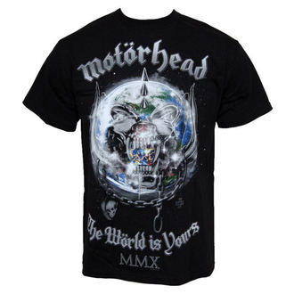 tričko pánské Motorhead - The World Is Your - ROCK OFF - MHEADTEE14MB