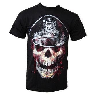 tričko pánské Slayer - Skull Hat - ROCK OFF - SLAYTEE01MB
