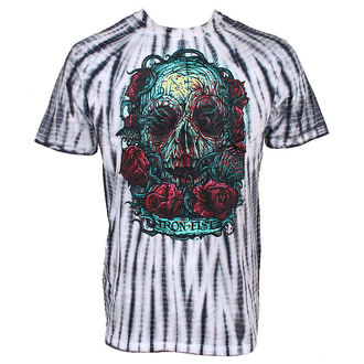 tričko pánské IRON FIST - Santeria - BLACK TIE DYE - IFM0390