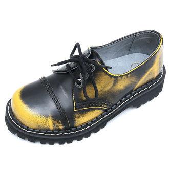 boty KMM 3dírkové - Yellow/Black, KMM