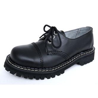 boty KMM 3dírkové - Black - 030