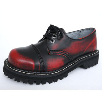 boty KMM 3dírkové - Red/Black