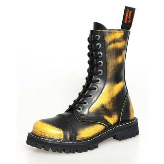 boty KMM 10dírkové - Yellow - 100