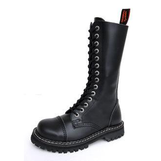 boty KMM 14dírkové - Black - 140/Z