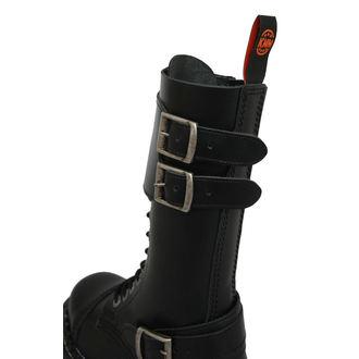 boty KMM 14dírkové - Black - 144