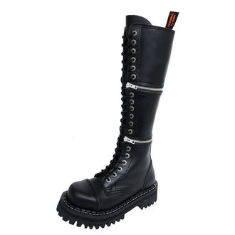 boty KMM 18dírkové - Black - 201/2-ZM