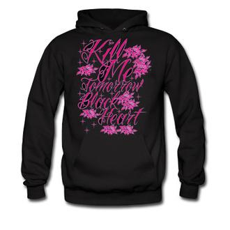 mikina dámská BLACK HEART - Kill Me - Hood