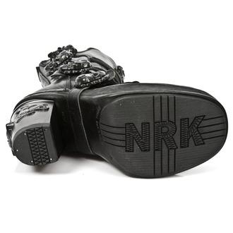 boty dámské NEW ROCK - ITALI NOMADA PLT. NKR T.SKULL