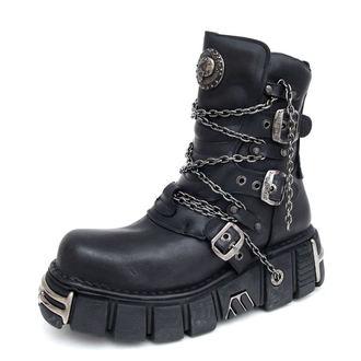 boty NEW ROCK - 1011-S1 - Itali Negro