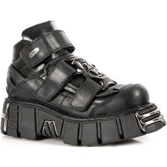 boty NEW ROCK - 285-S1 - Itali Negro
