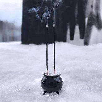 stojan na vonné tyčinky KILLSTAR - Cauldron Incense Burner - KSRA001012