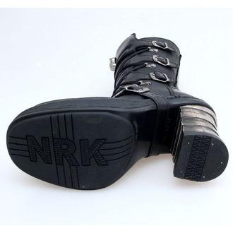 boty NEW ROCK - 8373-S1 - Itali Negro
