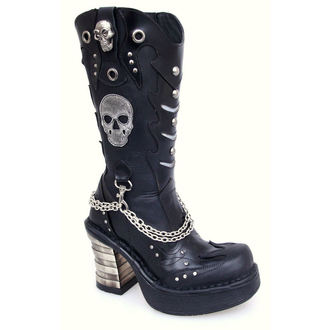 boty NEW ROCK - 8304-S1 - Antik Negro