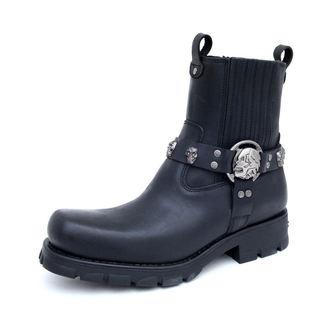 boty NEW ROCK - 7621-S1 - Itali Negro