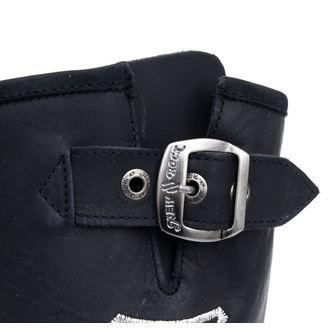 boty NEW ROCK - 7622-S1 - Itali Negro