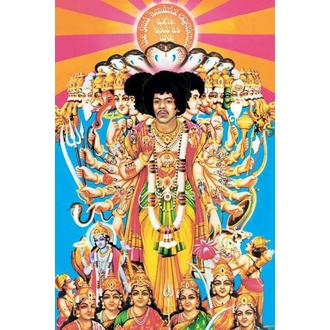 plakát Jimi Hendrix (Axis Bold As Love) - PYRAMID POSTERS, PYRAMID POSTERS, Jimi Hendrix