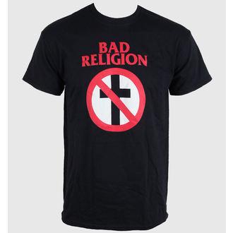 tričko pánské Bad Religion - Crossbuster Black - LIVE NATION- RTBADTSBCLA