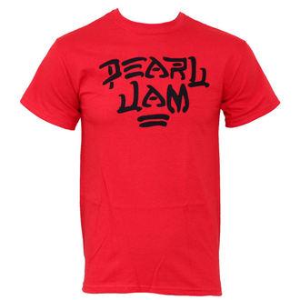 tričko pánské Pearl Jam - Logo Red - PEPJA0030, LIVE NATION, Pearl Jam