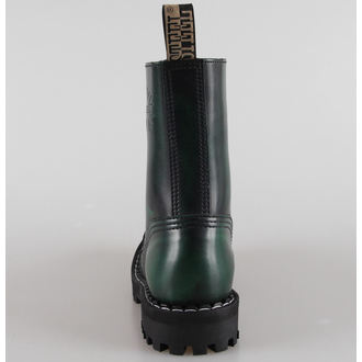 boty STEEL - 10 dírkové zelené (105/106 Green)