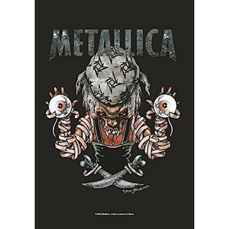 vlajka Metallica - Pirate, HEART ROCK, Metallica