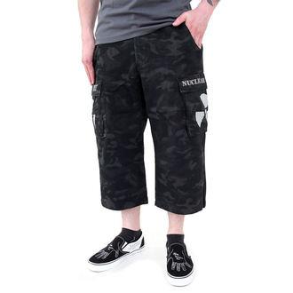 kraťasy pánské Black Camouflage - NUCLEAR BLAST, NUCLEAR BLAST