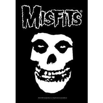 vlajka Misfits - Classic Fiend Skull - HFL0535
