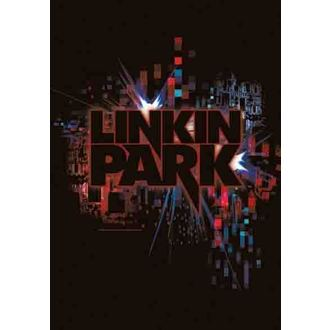 vlajka Linkin Park - Short Circuit, HEART ROCK, Linkin Park