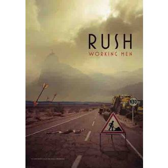 vlajka Rush - Working Men, HEART ROCK, Rush