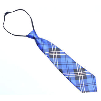 kravata POIZEN INDUSTRIES - Blue Tartan