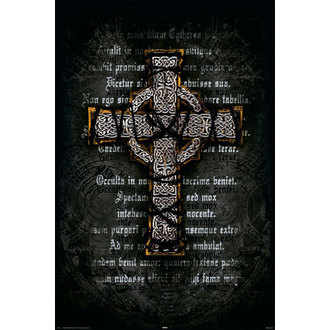 plakát Gothic Cross - Rolled, Reinders