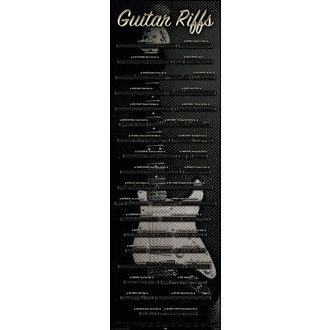 plakát Guitar - Riffs