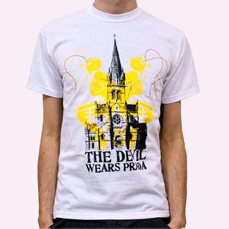 tričko pánské Devil Wears Prada - Church - White, KINGS ROAD, Devil Wears Prada