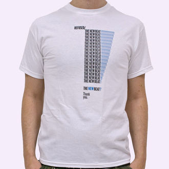 tričko pánské Refused - The New Beat - White