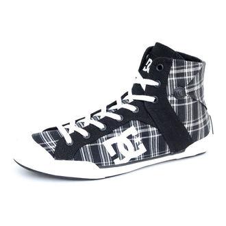 boty dámské DC - Chelsea Z HSE - BLACK/WHITE/PLAID