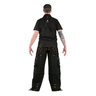 košile pánská DEAD THREADS - Blk/Red - GS1234