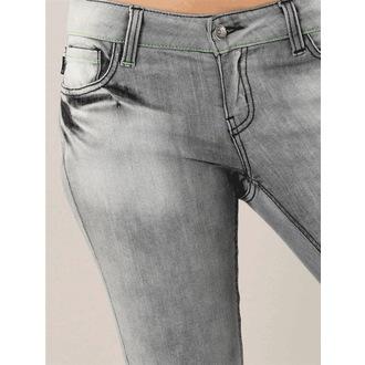 kalhoty dámské -jeansy- HORSEFEATHERS - Flight
