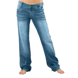 kalhoty dámské -jeansy- HORSEFEATHERS - Low