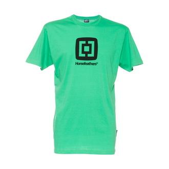 tričko pánské HORSEFEATHERS - Fair -  GREEN - Slim Fit