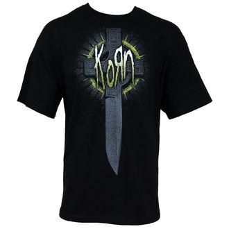 tričko pánské Korn - Cross Knife - BRAVADO - 19891011