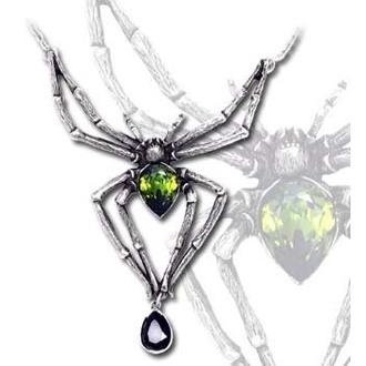obojek  Emerald Venom - ALCHEMY GOTHIC - P432