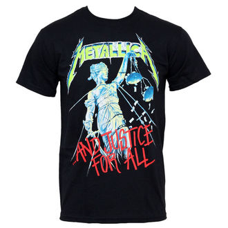 tričko pánské Metallica - And Justice For All - RTMTLTSBAJU