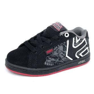 boty dětské ETNIES - Kids Metal Mulisha Fader - BLACK-RED
