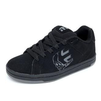boty dětské ETNIES - Kids Wraith - BLACK-CHARCOAL