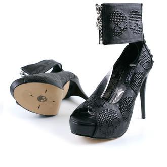boty dámské-střevíce IRON FIST - Digi Rider Platform - Black, IRON FIST